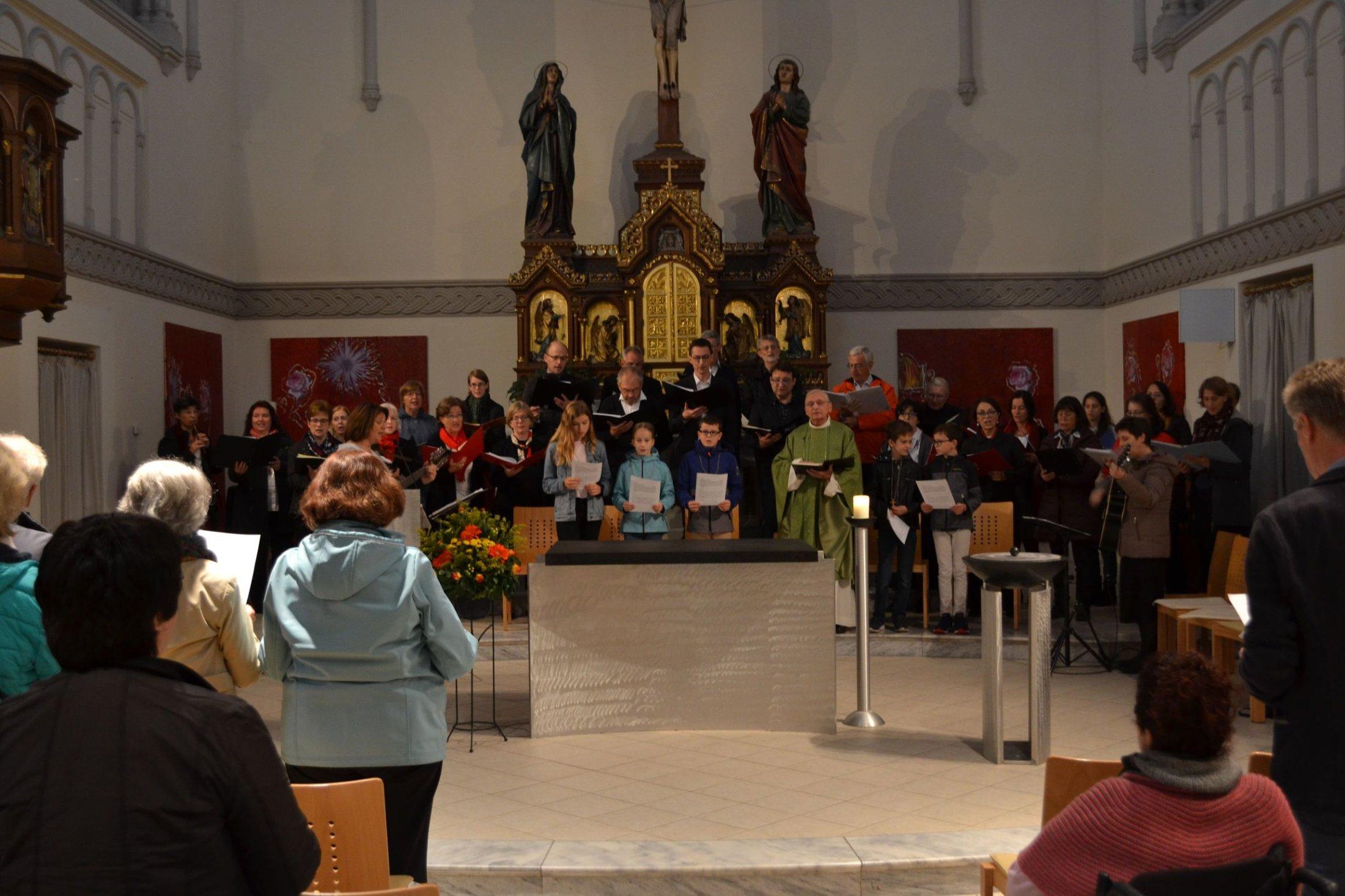 Harmony Sheep und Salzburger Chor