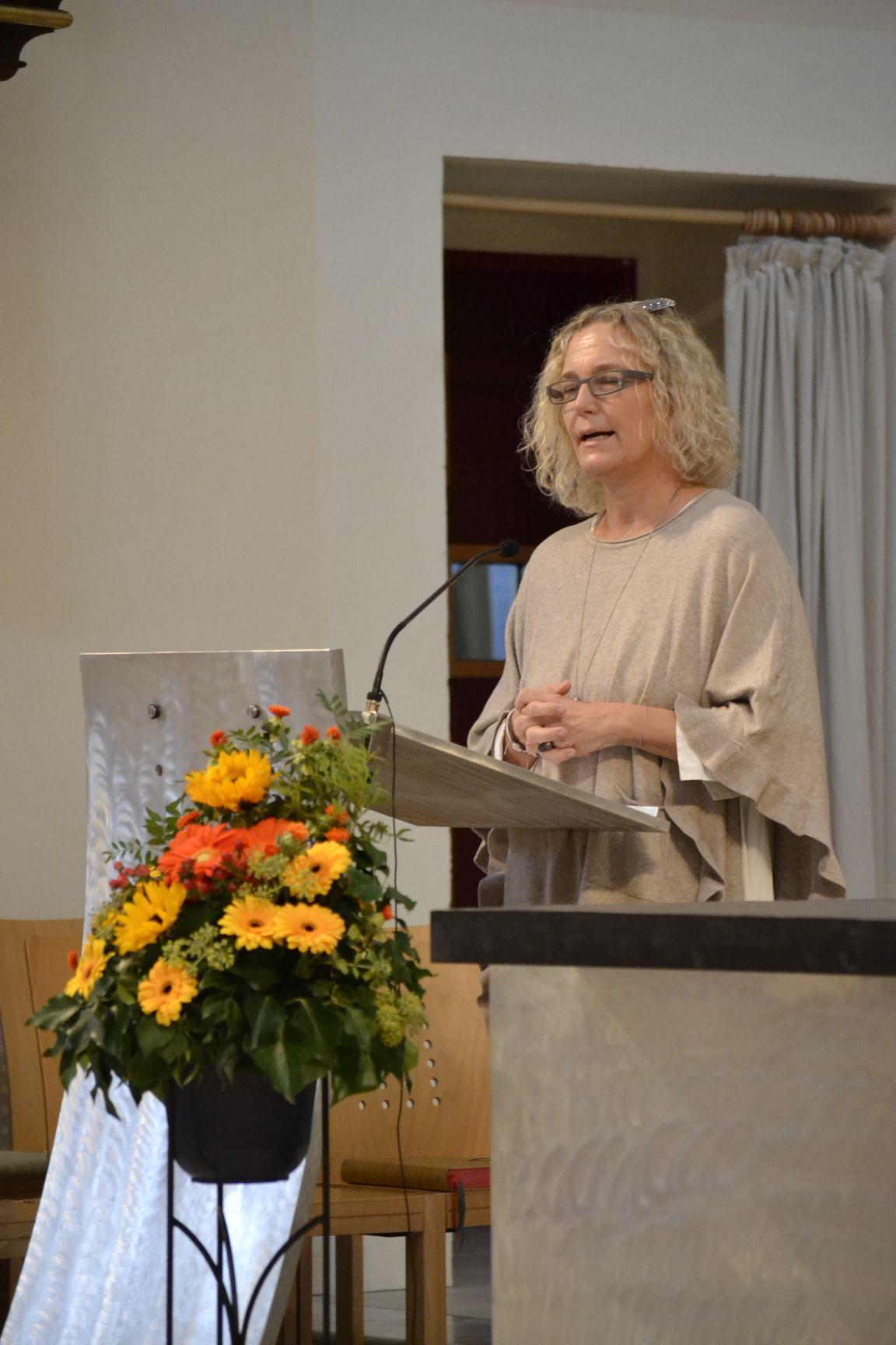 Dr. Martina Kronberger vom MOMO