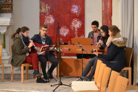 unsere Jugend-Musikgruppe